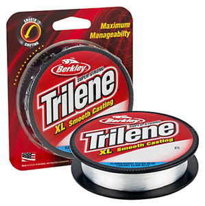 Berkley Trilene XL Mono Fishing Line, Clear Blue , Choice of Size & Length