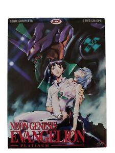 Neon Genesis Evangelion Platinum 5 Dvd 26 Ep. Dynit Ita Standard edition