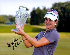 Beatriz Recari LPGA star hand signed autographed 8x10 golf photo coa Spain