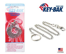 Key-Bak 19 inch Key Chain with Trigger Clip