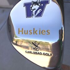 NEW UNIVERSITY OF WASHINGTON HUSKIES GOLF DRIVER REGULAR  FLEX