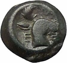 EPESUS Ephesos IONIA 405BC Bee Stag's Head Authentic Ancient Greek Coin i48237