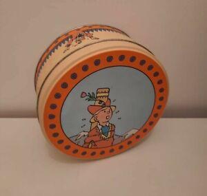 Boite En Fer Tintin Milou Hergé Moulinsart