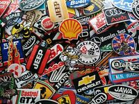 Logo Motorsport Racing Car Motorcycles Gas Oil Embroidered Patches Iron sew on