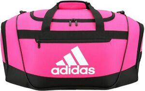 Adidas Defender III Small Duffel Bag Pink