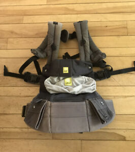 Lille Baby Airflow Baby Carrier for Infants & Toddler 7-45 lbs - Dark Gray