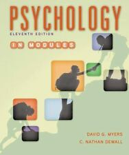 Psychology in Modules by Myers and DeWall 11th Ed. eBook PDF