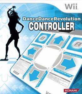Official Konami Nintendo Wii Dance Pad Mat Dance Dance Revolution DDRController