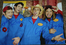 Imagination Movers -Band - Dave Smitty Rich Scott - SIGNED 11x14 - Disney