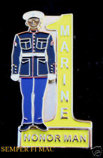 US MARINES HAT PIN MCRD 2ND RTBN ECHO FOX GOLF HOTEL HONORMAN GRADUATION GIFT