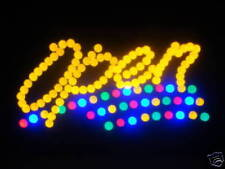 LED Neon Light Animated Motion OPEN Business Sign L41