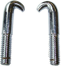 1983-1993 Ford Mustang, GT, LX Cobra new convertible top latch hooks, pair