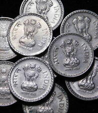 Republic of India  10x 5 Rupees Coins Thick Copper Nickel coin  A44-138Re6b