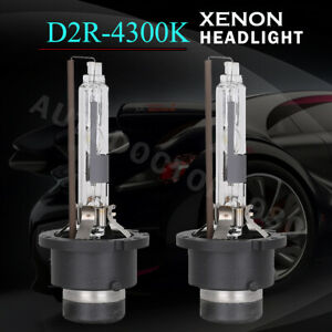 2x New D2R Xenon HID Headlight Bulbs Lamps 4300K 85126 66050 66250 90981-20007
