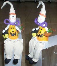 Figurine halloween monstre fantome citrouille lanterne