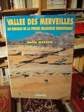 Emilia MASSON Vallée des merveilles Un berceau de la pensée (...) Faton 1993