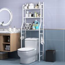 3 Tier Over Toilet Shelf Rack Bathroom Space Saver Storage Organizer Sniper A+