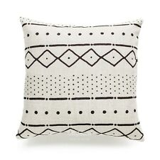 Hofdeco Decorative Cushion Cover Heavy Weight Cotton Linen African Mud Cloth and