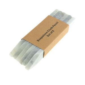 Natural Soapstone Chalk Pencil Sticks