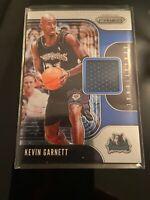 2019-20 Panini Prizm NBA KEVIN GARNETT Sensational Swatches Jersey Relic SS-KGT