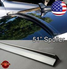 "51"" Flexy Semi Gloss Black Diffuser Rear Window Roof Trunk Spoiler Lip For  BMW"