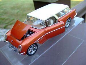 Danbury Mint 1/24th Scale L.E. 1954 Corvette Nomad Custom--VERY VERY NICE--
