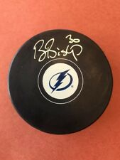 BEN BISHOP Autograph Hockey Puck Authentic with COA AUTO Singed