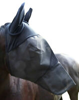 Fliegenmaske inkl.Ohren und Nase / Vollblut/ Cob / verstärkte Ausführung Wogati
