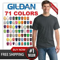 MANS CASUAL BLANK TEE GILDAN T SHIRT G5000 100% COTTON s-3xl 2 days sale! MAN'S