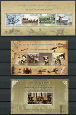 India Stamps 2019 MNH WWI WW1 World War I Military Aviation 15v on 4 M/S