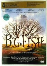 Big Fish (Dvd, 2004) Jessica Lange, Albert Finny