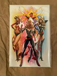 SOLD OUT: CAPTAIN MARVEL #1 - J. SCOTT CAMPBELL VIRGIN EXCLUSIVE