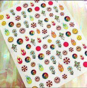 Takashi Nail Stickers