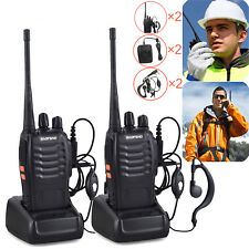 2PCS Baofeng Walkie Talkie 2 Way Radio BF-888S UHF400-470MHZ 5W 16CH Long Range