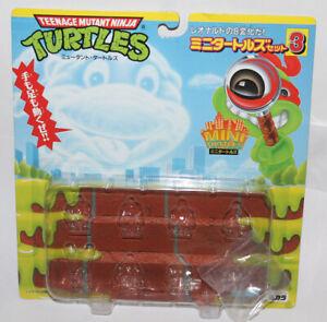 Takara Mini Mutants Set #2 Super Ninja Turtles Playset TMNT Japan Package