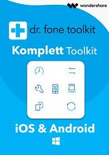 Wondershare Dr.Fone iOS & Android Toolkit Alle Module - 1 Jahr Lizenz Download