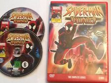 Spiderman Unlimited The Complete Series - Official UK Region 2 DVD