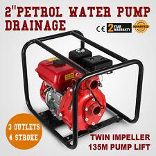 4-Takt 2Benzin Wasserpumpe Wasser Teichpumpe  Feuer  Pumpe  Schmutzwasserpumpe