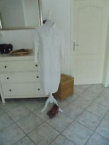 Lässiges langes Kleid/Maxikleid aus Italien,weiß,Gr.M-L 38/40,Sommerkleid/Kaftan