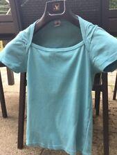 T Shirt Petit Bateau Fille 16 Ans Comme Neuf Bleu Vert