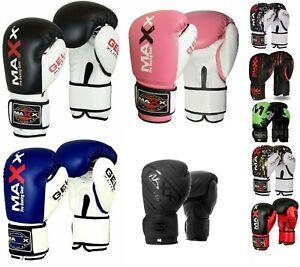 Boxing Gloves Junior kids sparring Gloves Punch Bag Training bag mitts Glove ki