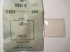 SUC S805 GS X1005 PX1005 Watch Crystal 24.7 20.7 FIT ELGIN 4517 HAMILTON CAPTAIN