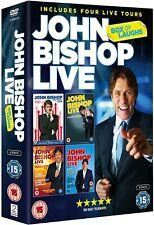 John Bishop Live - Box Of Laughs (DVD, 4 Discs)