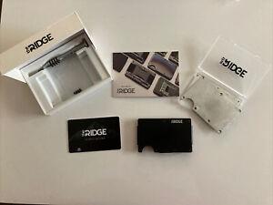 Ridge Slim Minimalist RFID Blocking Wallet