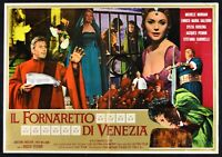 Poster Die Fornaretto Von Venezia S Salerno Koscina Rui S16