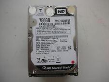 "WD Scorpio Black 750gb WD7500BPKT-00PK4T0 2060-771629-006 REV P1 2,5"" SATA"