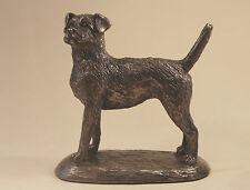 Border Terrier -  Bronze - Harriet Glen - Boxed New