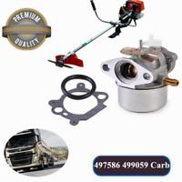 Carburetor for BRIGGS&STRATTON 497586 499059 Carburetor Lawnmower Carb No# :121X