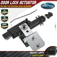 Door Lock Actuator fit Ford F-150 2001-2003 Lincoln Blackwood 2002 Rear LH Left
