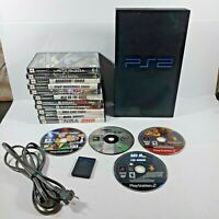Sony PlayStation 2 SCPH-30001 Console Plus Games - For Parts or Repair